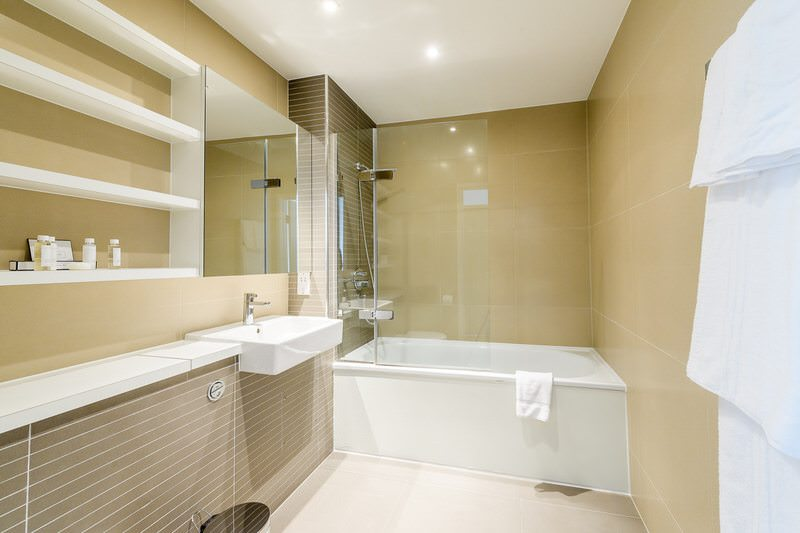 1 Bedroom Apartment Bathroom at Victoria Howick Place