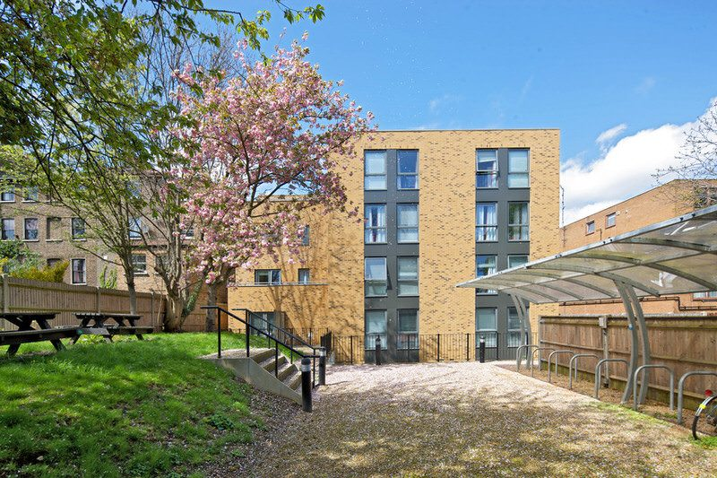 Camden Apartments Rear Garden and Bicycle Parking Facilities