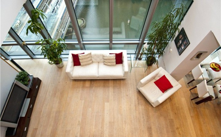 West India Quay Apartments Lounge