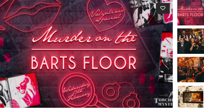 Solve A Murder On Barts Floor Valentines Day 2019