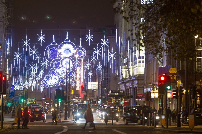 Dazzling displays of festive lights
